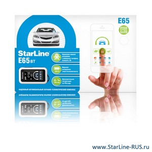 StarLine E65 BT 2CAN+2LIN
